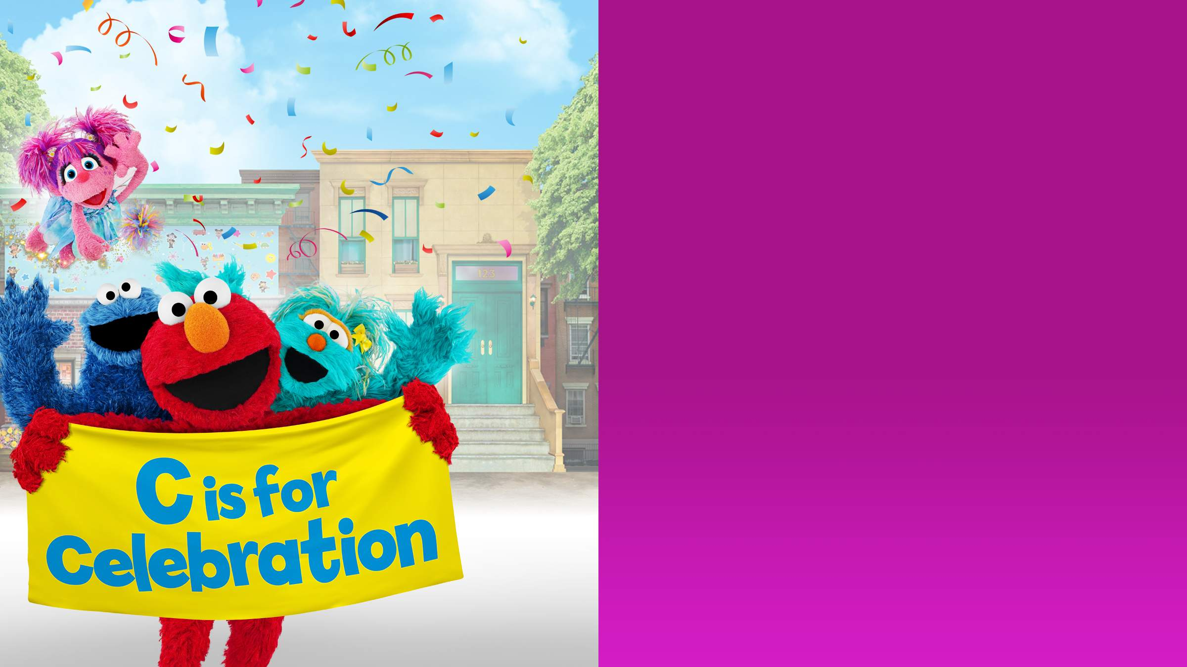 7eeadfa4f31ba Join your favorite Sesame Street friends at the community celebration!